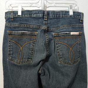 Calvin Klein Jeans high rise flare 8